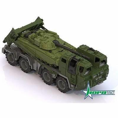 Машинка Военный тягач 258 Нордпласт