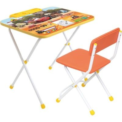 Комплект детской мебели Тачки Ника Д2т