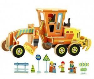 Деревянный 3D пазл ROBOTIME 48 деталей VE201