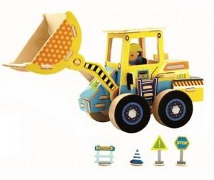 Деревянный 3D пазл ROBOTIME 44 детали VE202 VE202