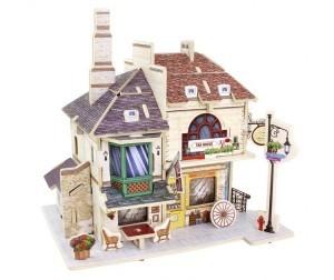 Деревянный 3D пазл «Tea House» ROBOTIME 46 деталей F135 F135