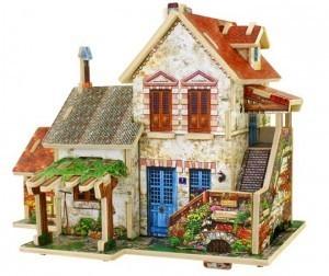 Деревянный 3D пазл «FARM HOUSE» ROBOTIME 44 детали F124