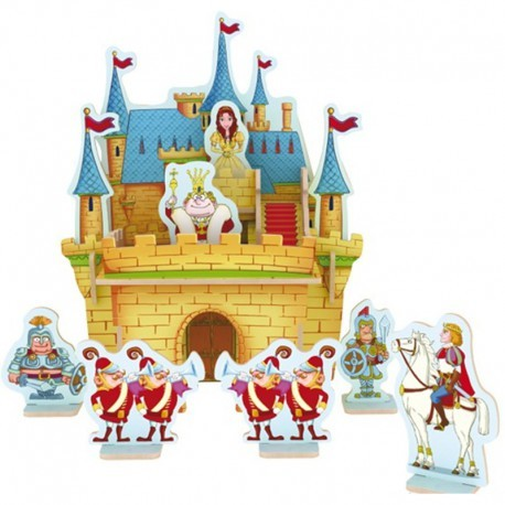Деревянный 3D пазл Princess Castle ROBOTIME E203 E203