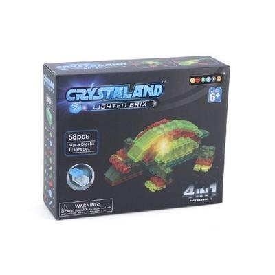 Конструктор Морские животные 4-в-1 58 деталей Crystaland 99009