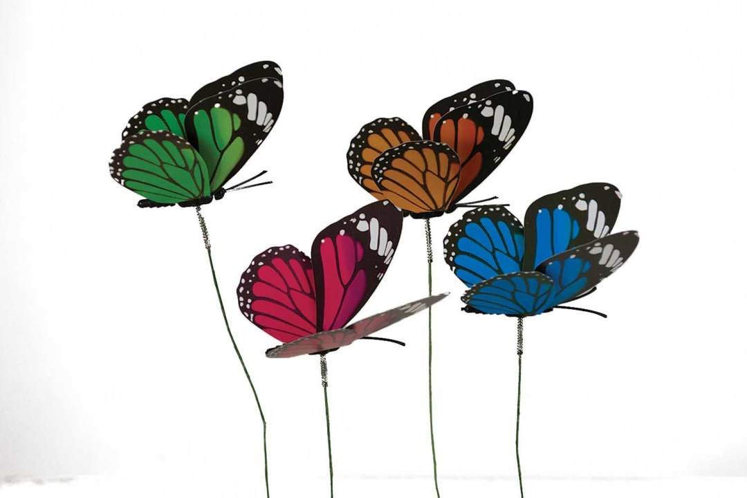 "DP1007 - Butterfly with 3"" movable wings ""dozen"" DP1007"