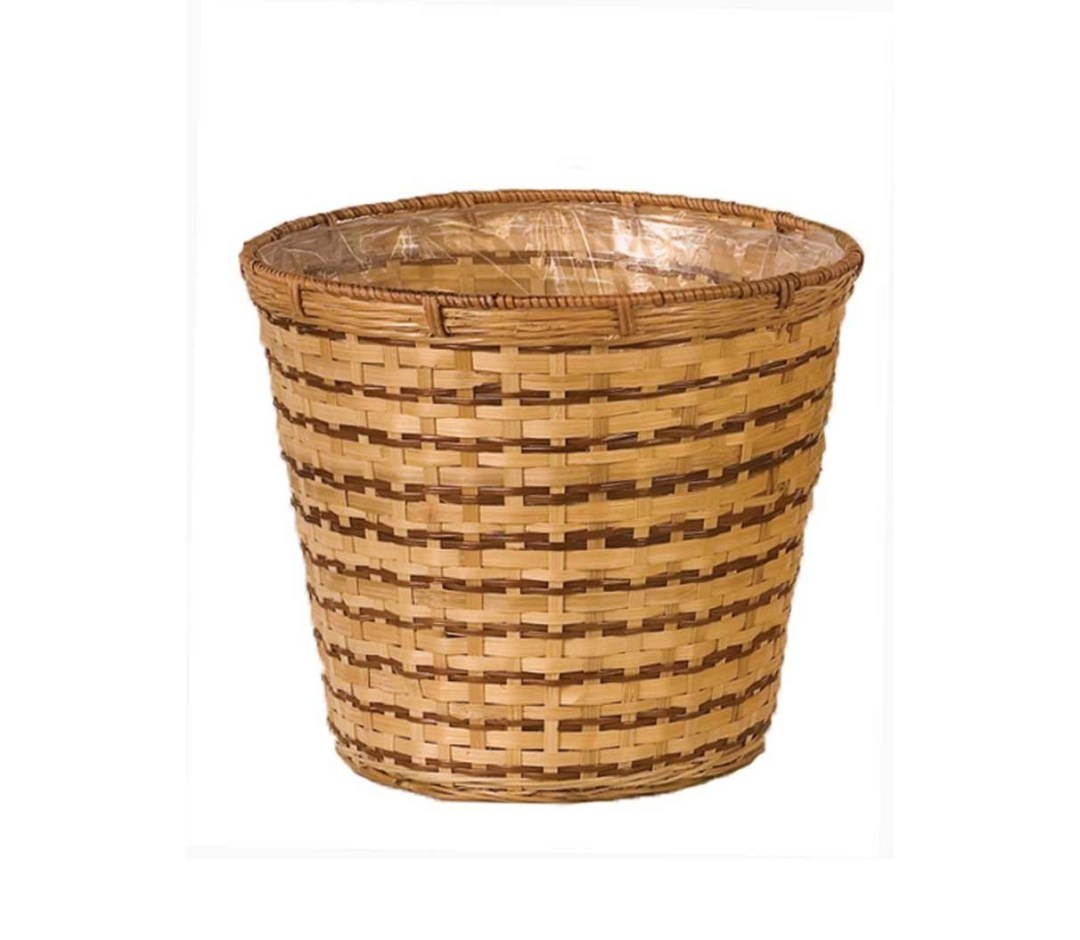 """MS1012-10 - 10"""" Bamboo ( Fits 8"""" pot) $2.95 each Liner Included MS1012-10"""