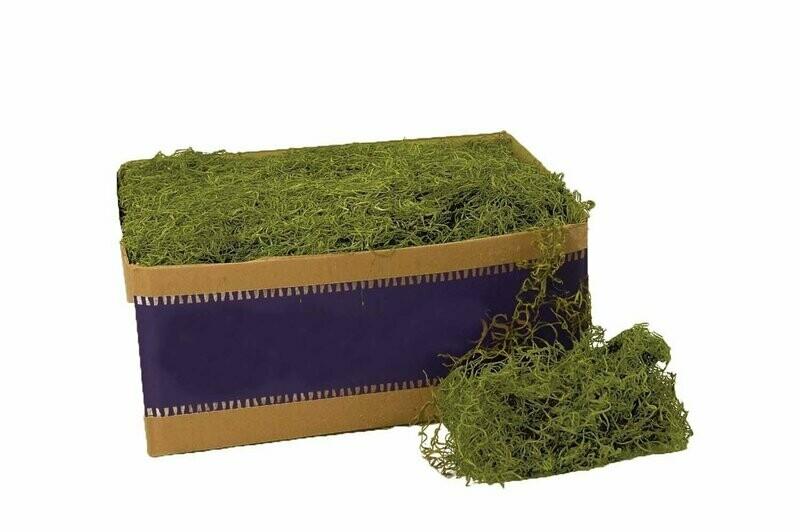 26927 - 3lb Bulk Preserved Green Spanish Moss