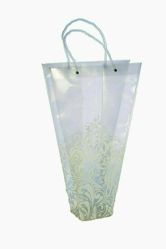 FS6001 - Heavy Poly Deep Deco Tapered Floral Bag 12