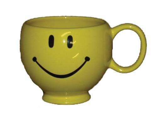 CP9106 - Yellow Smiley Face Mug CP9106