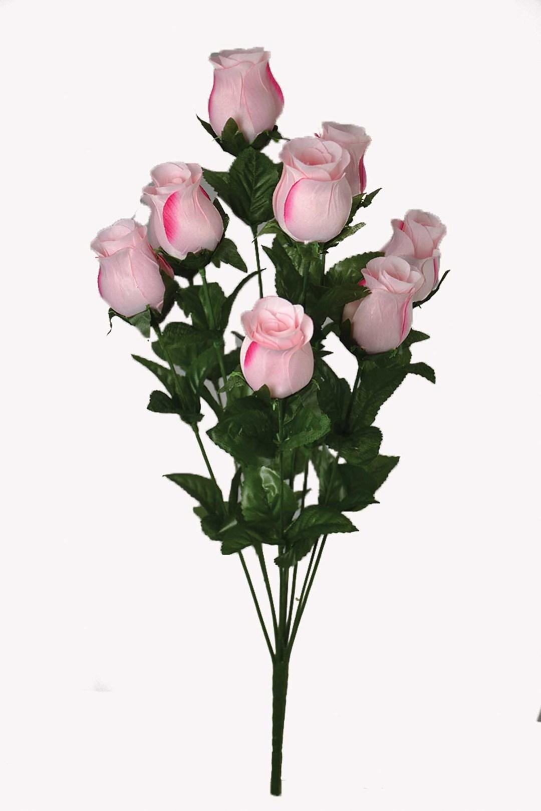 "SB1097PK - 21"" Pink Rosebud  x10 $2.85 each SB1097PK"