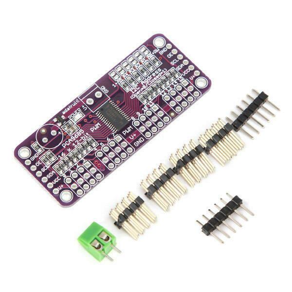 Modul CJMCU PCA9685, interfata I2C, 16 CH 12 bit