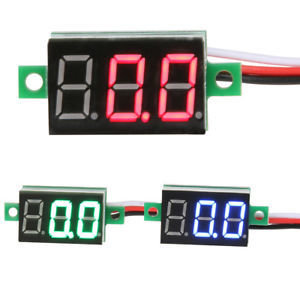 Voltmetru digital LCD 4 - 30V