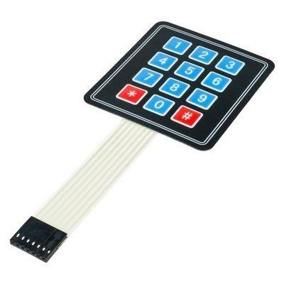 Tastatura membrana Keypad 3x4