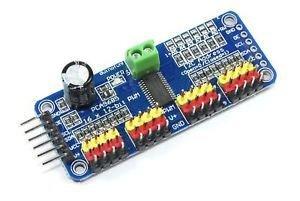 Modul PCA9685, interfata I2C, 16 CH, servo motor