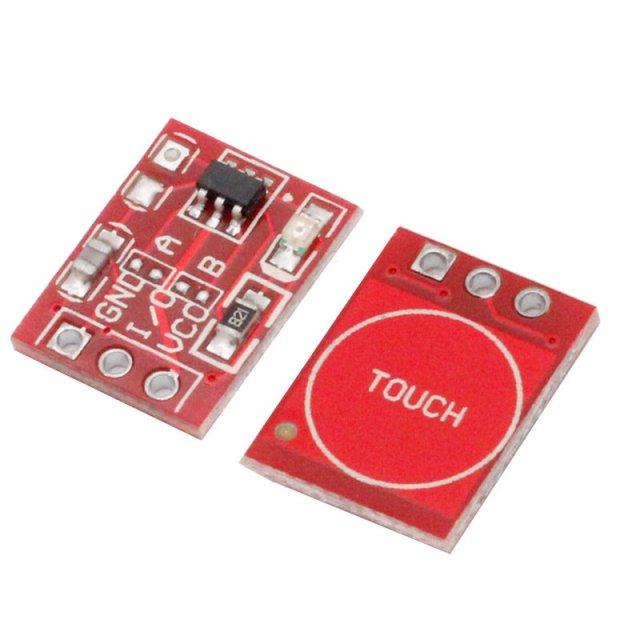 Buton capacitiv TTP223