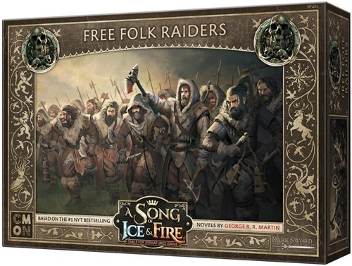 A Song Of Ice And Fire Free Folk Raiders 24EQN2573CJT4