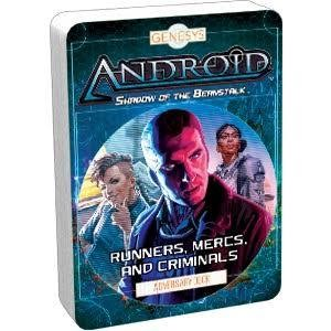 Genesys RPG Adversary Deck Runners Mercs And Criminals