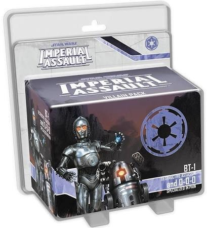 Star Wars Imperial Assault BT-1 And 0-0-0
