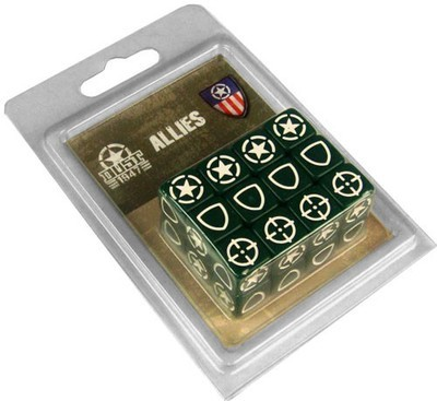 Dust 1947-Allies Dice Set