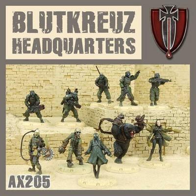 Dust 1947-Blutkreuz Headquarters