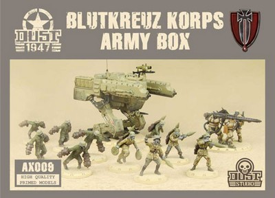 Dust 1947-Blutkreuz Korps Army Box