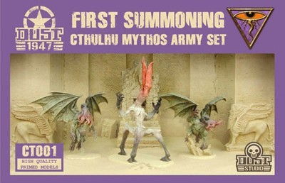 Dust 1947- Cthulhu Mythos army First Summoning