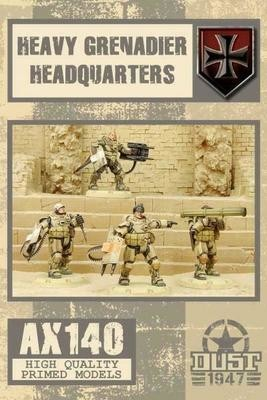 Dust 1947-Heavy Grenadier Headquarters