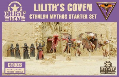 Dust 1947-Mythos Starter Set Lilith's Coven
