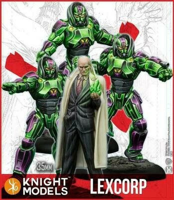 Batman Lex Luthor And Troops