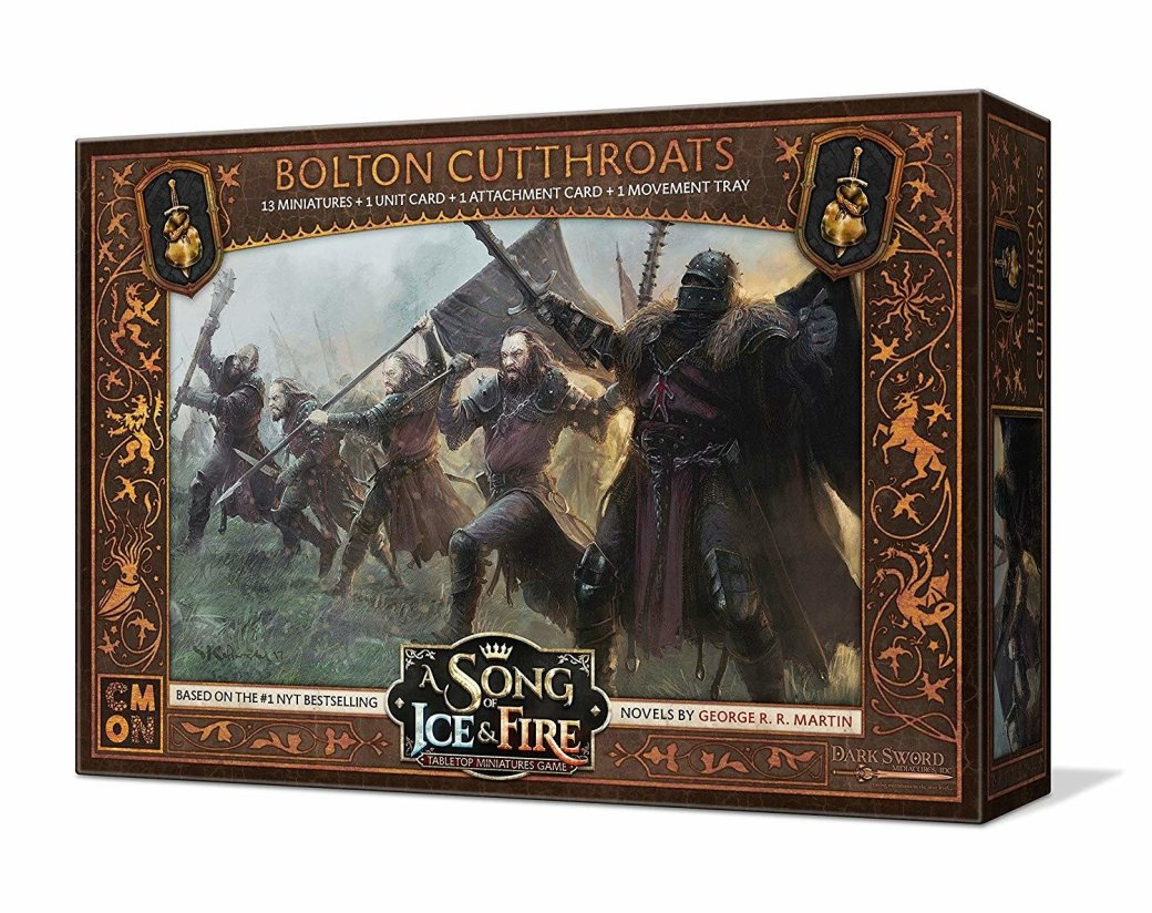 A Song of Ice and Fire Bolton Cutthroats N2VK0V1QCZYD4