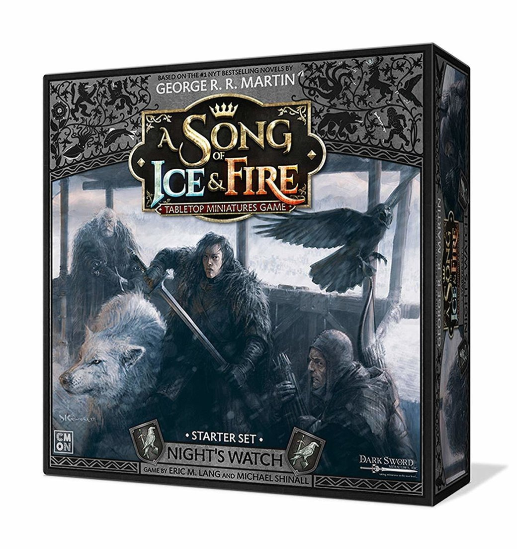 A Song of Ice and Fire Nights Watch Starter Set Z54ACPQ7SYN1C