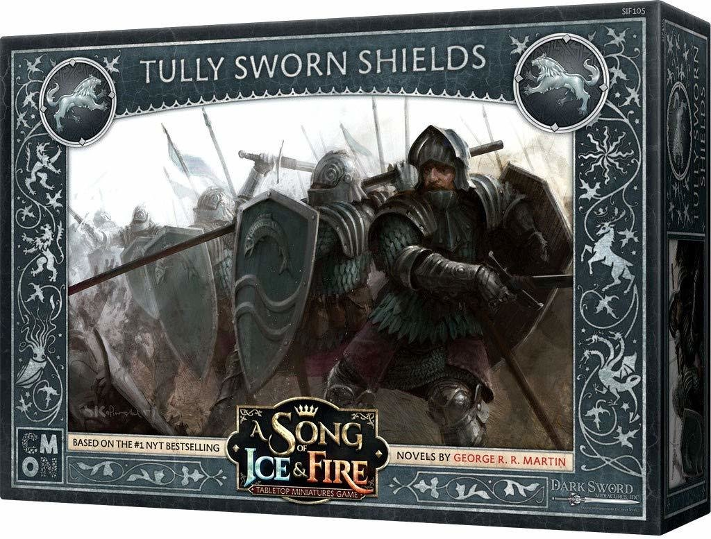 A Song of Ice and Fire Tully Sworn Shields WDEXFV4P3CF1Y