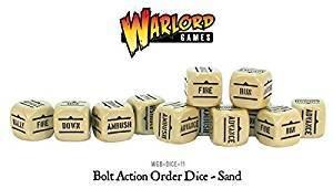 Order Dice Sand