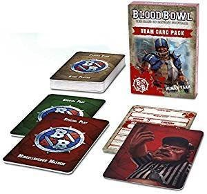 Games Workshop Blood Bowl Human Team Card Pack