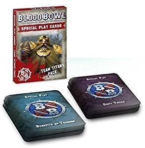BLOOD BOWL CARDS: TEAM TITANS PACK (ENG)