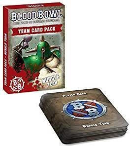 BLOOD BOWL: NURGLE TEAM CARDS (ENGLISH)