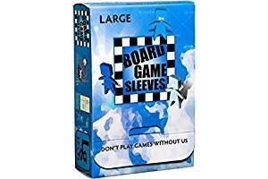 Board Game Sleeves: Non-Glare - Large (50ct)