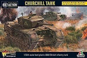 Bolt Action Churchill Tank