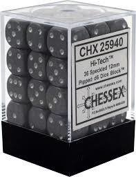 Chessex Speckled Hi Tech 12mm (Small) 36 Dice Set CHX25940