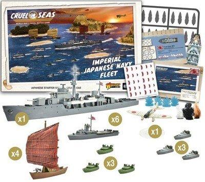 Cruel Seas Imperiao Japanese Navy Fleet