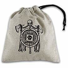 Q-Workshop Dice Bag Orc Beige with Black