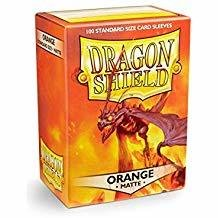 Dragon Shield Sleeves Orange Matte