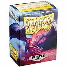 Dragon Shield Sleeves Matte Purple