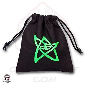 Black Call of Cthulhu Dice Bag