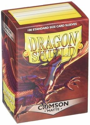 Dragon Shield Sleeves Matte Crimson
