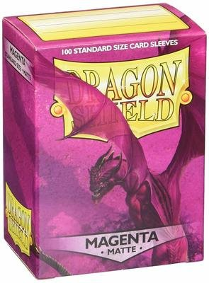 Dragon Shield Sleeves Magenta Matte