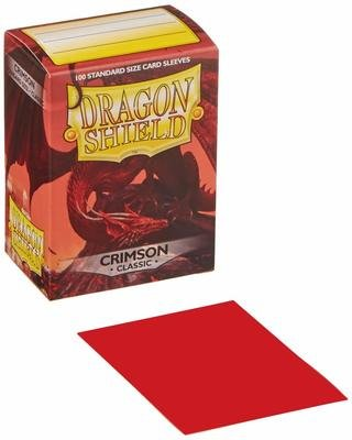 Dragon Shield Sleeves Crimson