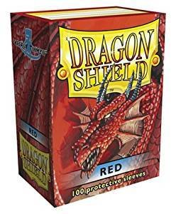Dragon Shield Sleeves Red