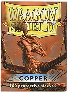 Dragon Shield Sleeves Copper