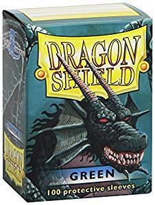 Dragon Shield Sleeves Green